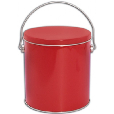 18 piece Red  Cookie Pail