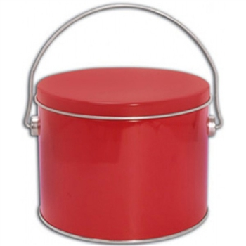 12 piece Red  Cookie Pail