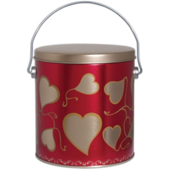 18 piece Sweet Heart Cookie Pail