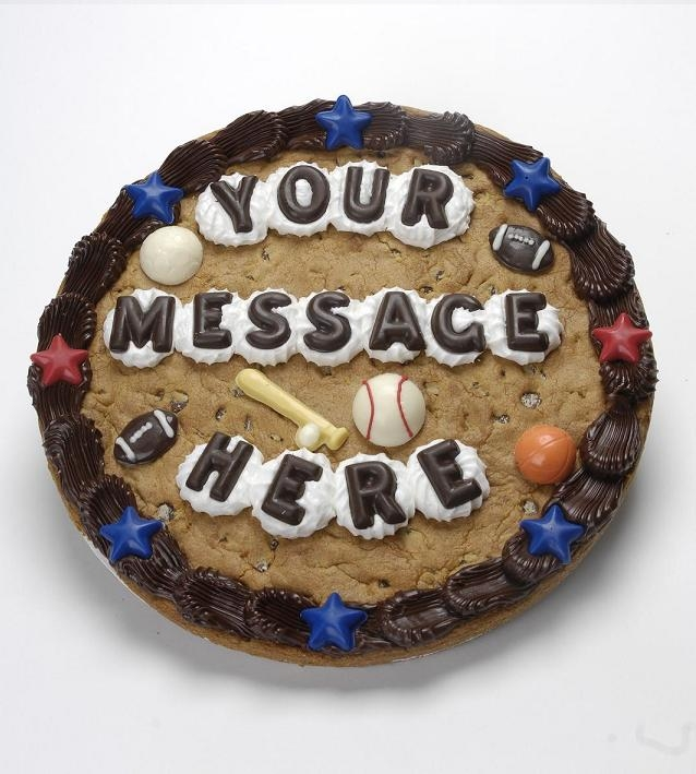 Tremendous Order Custom Cookie Cakes Online Get Cookie Cakes Delivered Funny Birthday Cards Online Alyptdamsfinfo