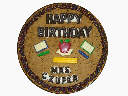"18"" Cookie Cake serves 30-32"