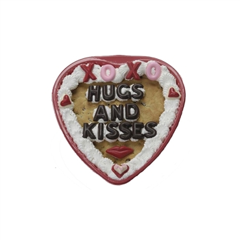 Heart shaped cookie cake valentines day gifts, personalized photo heart cookies