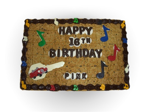 Supersize Cookie Cake serves 45-60