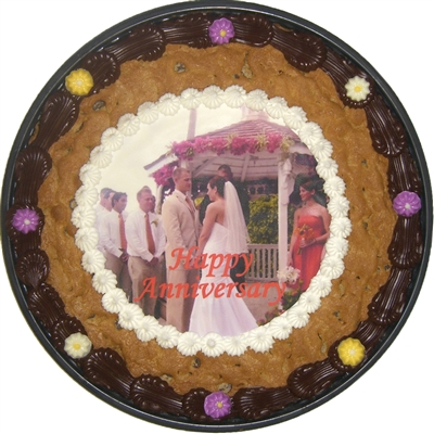 Photo Cookie Cake, cookie shipping, cookie gifts, kosher cookies, alis cookies, cookie cakesPhoto Cookie Cake
