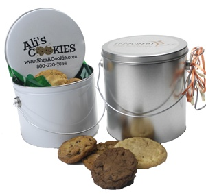 12 or 18 piece Cookie Pail