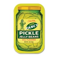 Pickle Jelly Beans, a funny, pickle-flavored gift.