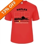 Naples Shirt-Men's, Hot Coral,  Sizes S-3XL