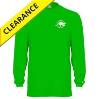 Kanga Volley Shirt for men. Sizes S-3XL, lime