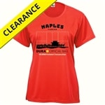 Naples Shirt-Women's, Hot Coral,  Sizes S-2XL