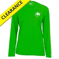 Kanga Volley Shirt for women. Sizes S-2XL, hot pink, electric blue, lime