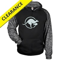 Kanga Sport Hoodie for youth. Sizes XS-XL, black