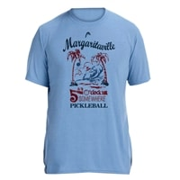 Margaritaville It's 5 O'Clock Somewhere Pickleball Shirt for Men