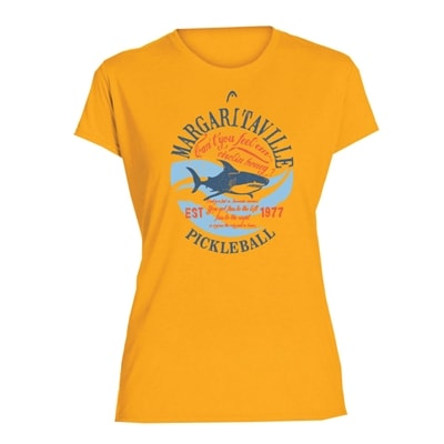 Margaritaville Fins Pickleball Shirt for Women