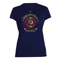 Margaritaville Washed in the Ocean Pickleball Shirt for Women