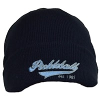 Beanie for pickleball features Zero Zero Two, Game On embroidered on front.  Choose from black, charcoal or navy