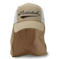 Heritage Shade Cap with embroidered pickleball logo, available in two sizes.