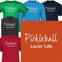 Pickleball Lovin Life Shirt - Mens