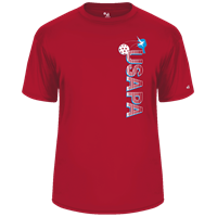 Choose shirt style and color in this USAPA graphic. Sizes S-3XL