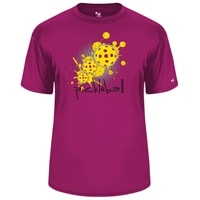 Pickleball Splatter mens shirt