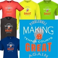 Tennis Court Pickleball Shirt