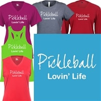 Pickleball Lovin Life Shirt - Womens