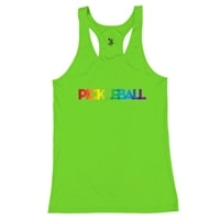 Rainbow Pickleball Shirt