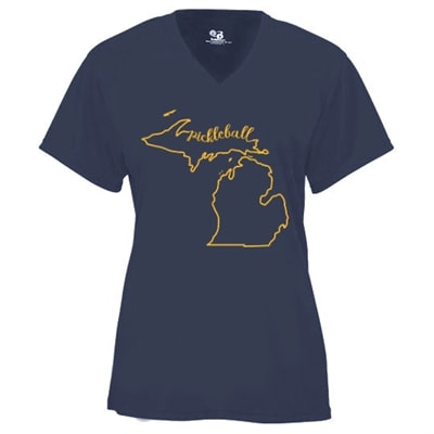 Michigan Pickleball Shirt - Womens