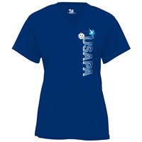 Choose shirt style and color in this USAPA graphic. Sizes S-2XL