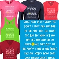 Phrases and talk of Pickleball shirt