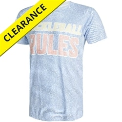 Pickleball Rules shirt for men displays the official rule book on the body of the shirt, sizes S-2XL