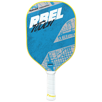 The Babolat REBEL Pickleball Paddle with polypropylene core and fiberglass face, choose from touch or power models.