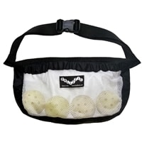 Ballszie Pickleball Holder, holds approximately 5-6 pickleballs. Choose from black or pink.