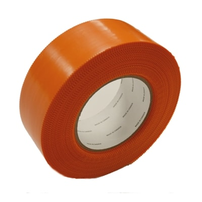 Bright orange court tape, water resistant and tear resistant