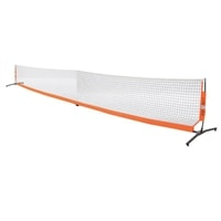 Bownet Portable Pickleball Net, strong and lightweight. Includes carrying case.