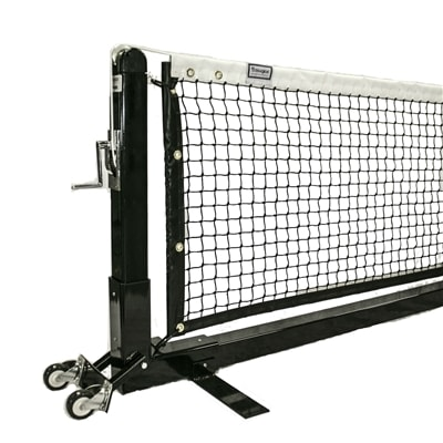 Douglas Premier Pickleball Net is designed to be used just like a permanent net but without the permanent installation.