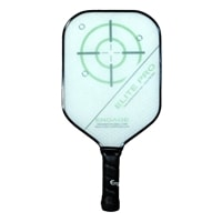 The Elite Pro Composite paddle by EngagePickleball-choose from red or white