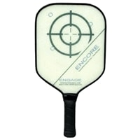 The Encore Composite paddle by EngagePickleball-choose from several design options.