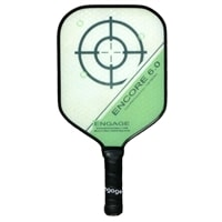 The Encore 6.0 paddle by EngagePickleball-choose from two grips and five colors.