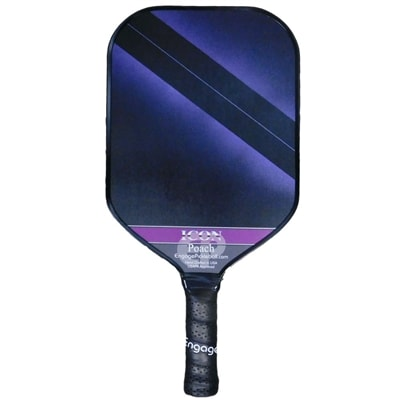 Poach Icon Pickleball Paddle-Choose from Blue, Purple, Red or Black