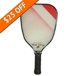 The Encore Teardrop Composite paddle by EngagePickleball-choose from blue or purple