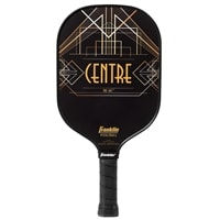 Aspen Kern Centre Signature Pickleball Paddle-Black and Orange
