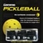 High Tack Pickleball Grip, moisture absorbent.  Chosse from black, white, or neon, stars & stripes or fashion mix