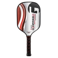 Compass LH Elongated Graphite Pickleball Paddle by GAMMA, a responsive paddle with improved control and spin.