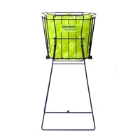 Pickup and store pickleballs with the Gamma Pickleball Hopper. 50 ball capacity.