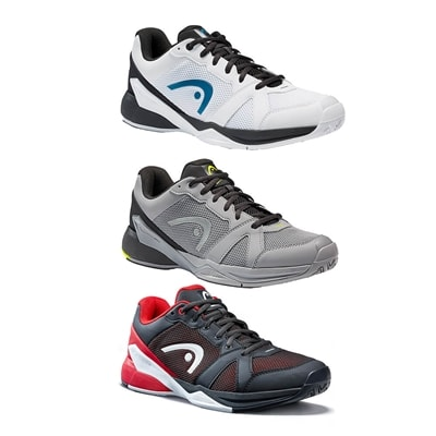 Revolt EVO Shoe by Head for Men in raven/red or white/navy, sizes 7-14