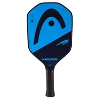 Extreme Elite Composite Paddle, polymer core and fiberglass face. Available in blue or green