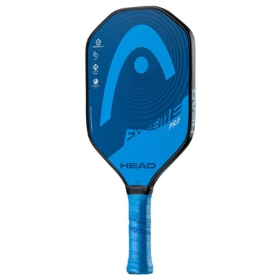 Extreme Pro Composite Paddle, polymer core and fiberglass face. Available in red or blue.