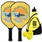 Margaritaville 'Fins' Bundle w/Backpack- includes two paddles, 3 outdoor balls and backpack.