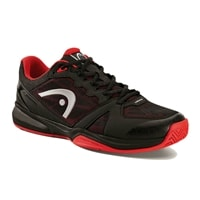 Revolt Indoor Court Shoe by Head,  Raven Black/Red, M/5 -14, W/6.5-15.5
