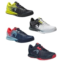 Sprint Pro Shoe 3.0 by Head for Men in midnight navy/neon red or black/teal